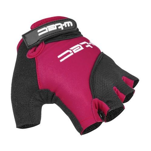 Damskie rękawice kolarskie W-TEC Sanmala Lady AMC-1023-22, Fioletowo-czarny, S