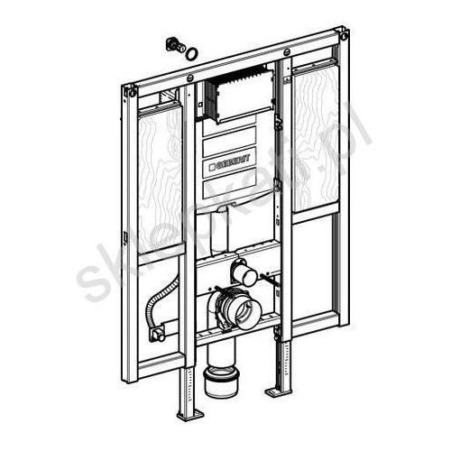 Geberit Duofix - element montażowy do WC dla niepełnosprawnych, specjalny, UP320, Sigma, H112 111.375.00.5