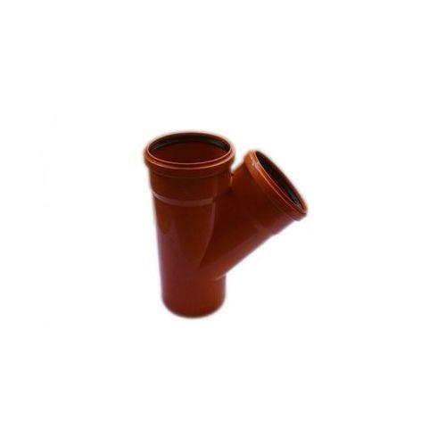 Trójnik kanalizacji zewnętrznej 160 x 160 mm/45° POLIPLAST (5907660708671)