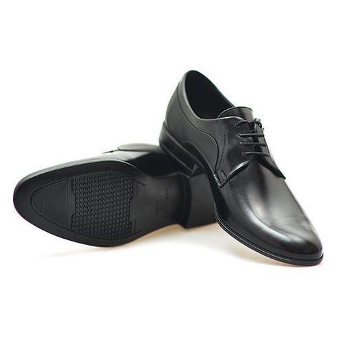 Pantofle c00c-5239-zb24-00s01 czarne l/m, Conhpol