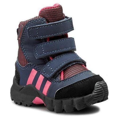Śniegowce adidas - Cw Holtanna Snow Cf I BB1402 Bahpnk/Bahpnk/Conavy, kolor różowy
