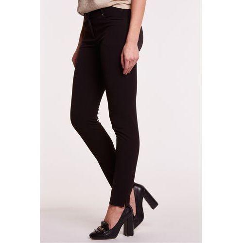 Eleganckie spodnie materiałowe w kolorze czarnym - marki L'ame de femme