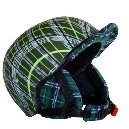Kask snowboardowy flux - kolor zielony, rozmiar s (50-54) marki Worker
