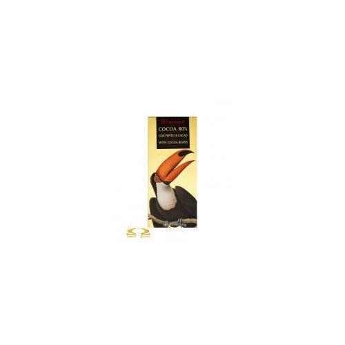 Czekolada Stainer 80% z ziarnami kakaowca, 50FC-864A7