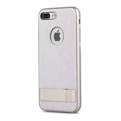 Moshi Kameleon - Etui hardshell z podstawką iPhone 7 Plus (Ivory White), kolor biały