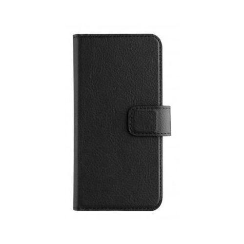 Etui XQISIT Slim Wallet dla Samsung Galaxy A5 (2017) Czarny (Futerał telefoniczny)