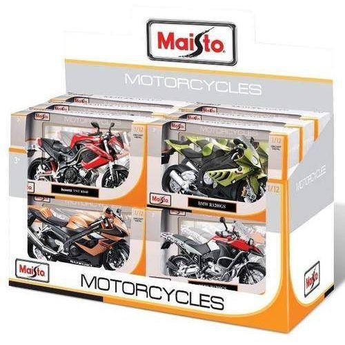 Maisto Motocykl 1/12 różne rodzaje (0090159311010)