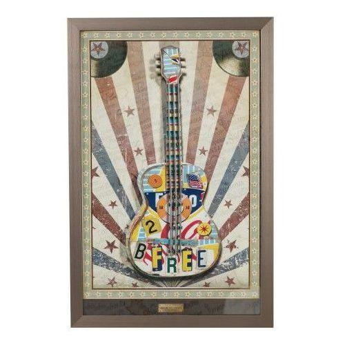 Dekoria Obraz Guitar 68,5x104,5, 68,5 × 104,5