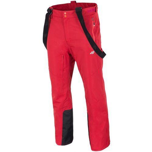 4F męskie spodnie narciarskie H4Z17 SPMN003 pomarańcz M