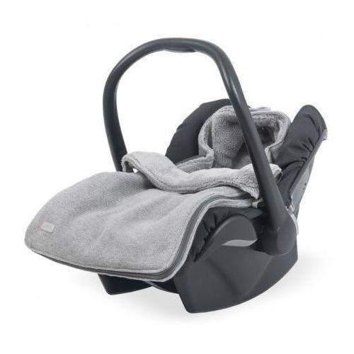 Śpiworek zimowy do fotelika - Natural Knit Szary - Jollein (8717329331648)