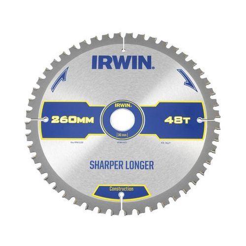 Irwin construction Tarcza do pilarki tarczowej 260mm/48t m/30 śr. 260 mm 48 z