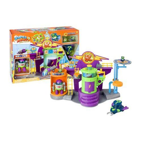 Magic box Super zings laboratorium + figurki profesor k i enigma + robot + pojazd superzings (8431618009666)