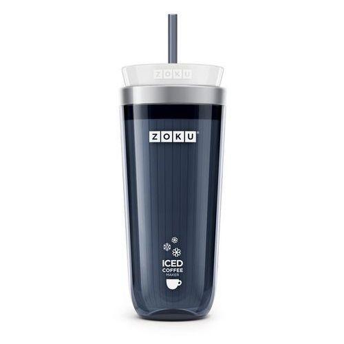Kubek do mrożonej kawy lub herbaty Iced Coffee Maker grafitowy (0851877003478)