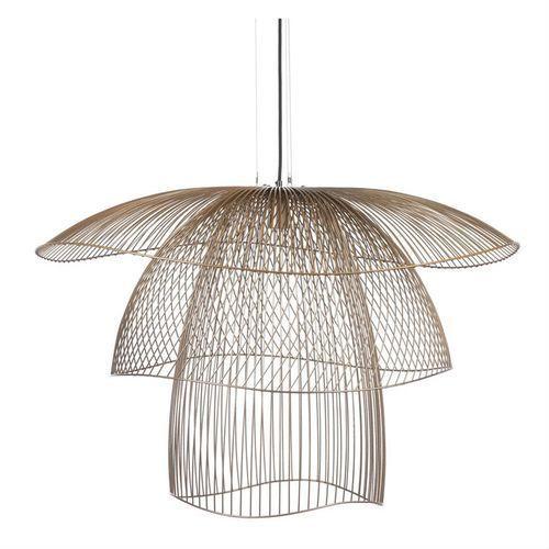 Forestier Papillon-lampa wiszaca metal druciany Ø100cm (3700663914238)