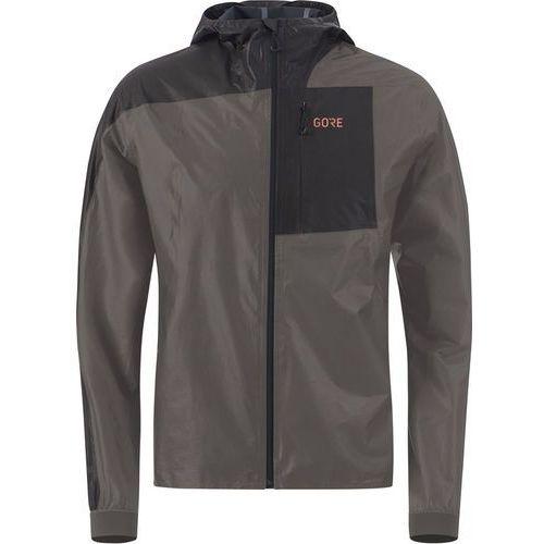 r7 gore-tex shakedry kurtka do biegania mężczyźni szary/czarny xxl 2018 kurtki do biegania marki Gore wear