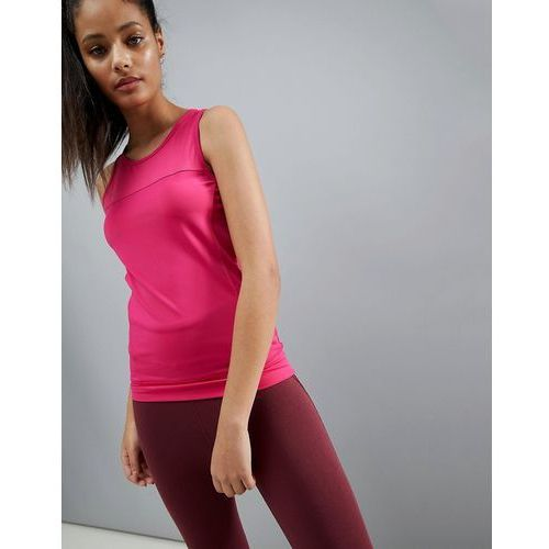 training vest top in performance jersey with seam detail - pink marki Asos 4505