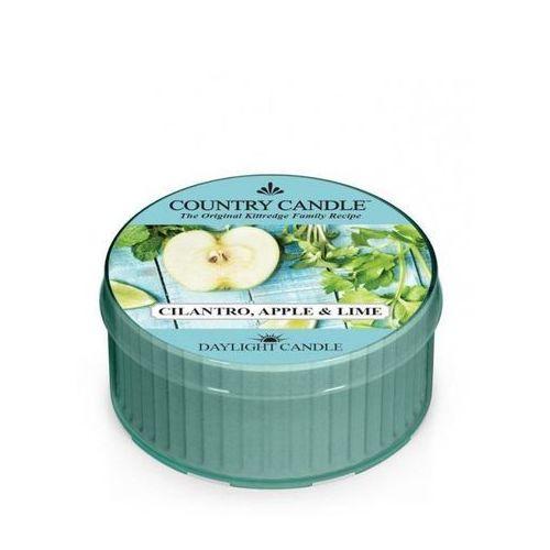Country candle świeca zapachowa 35g cilantro, apple & lime marki Kringle candle