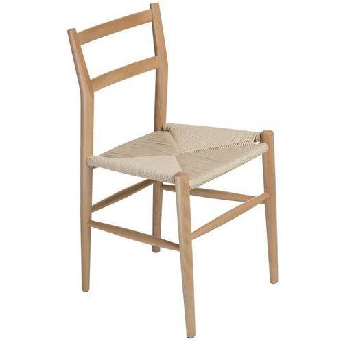 Krzesło wiggy natural marki Dkwadrat