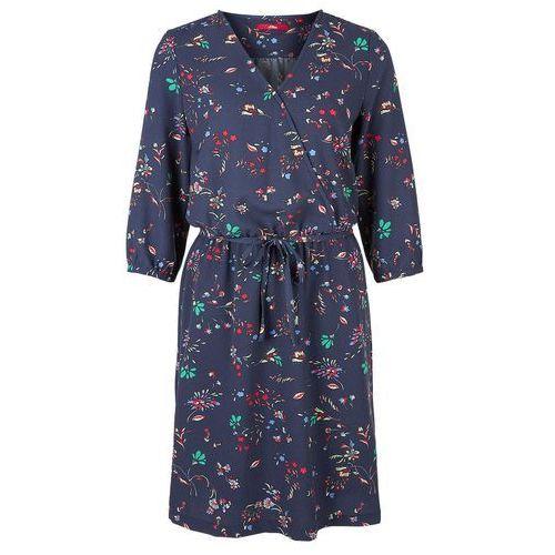 s.Oliver sukienka damska 42 niebieski (4059998187602)