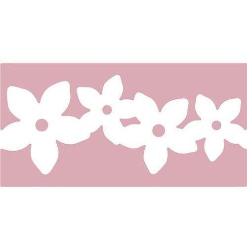 Dziurkacz ozdobny brzegowy jcdz-608-006/6,3cm - girlanda kwiatów marki Dalprint