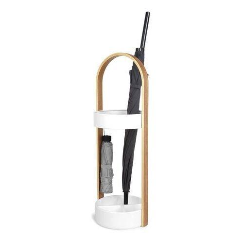 Umbra Stojak na parasole hub biały/naturalny