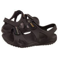 Crocs Sandały swiftwater river sandal m espresso/black 203965-23k (cr124-c)
