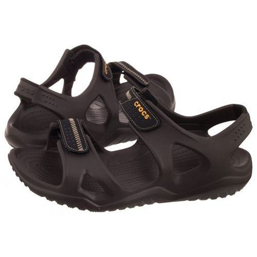 Sandały Crocs Swiftwater River Sandal M Espresso/Black 203965-23K (CR124-c), 203965-23K