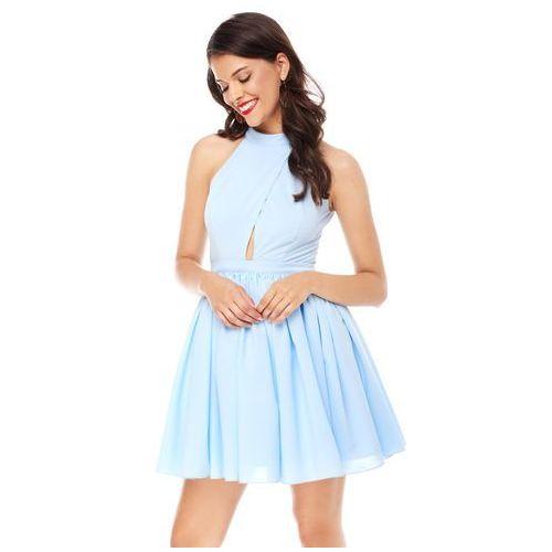 Sugarfree Sukienka plumeria w kolorze błękitnym