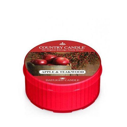 Country candle świeca zapachowa 35g apple & teakwood marki Kringle candle