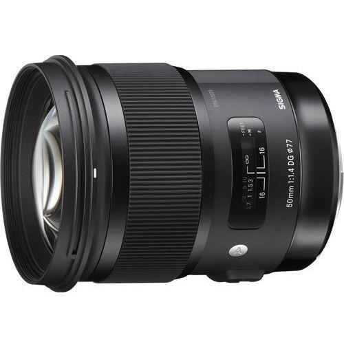 Obiektyw SIGMA A 50/1.4 A DG HSM Canon, OSC50/1.4 A DG HSM