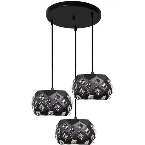 Candellux Lampa wisząca 33-57815 delphi czarny + darmowy transport! (5906714857815)