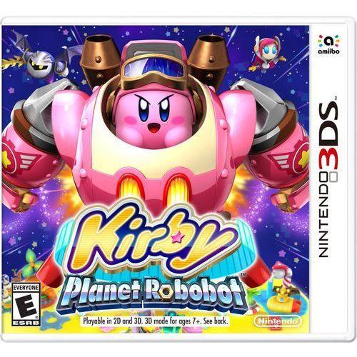 3ds kirby: planet robobot marki Nintendo