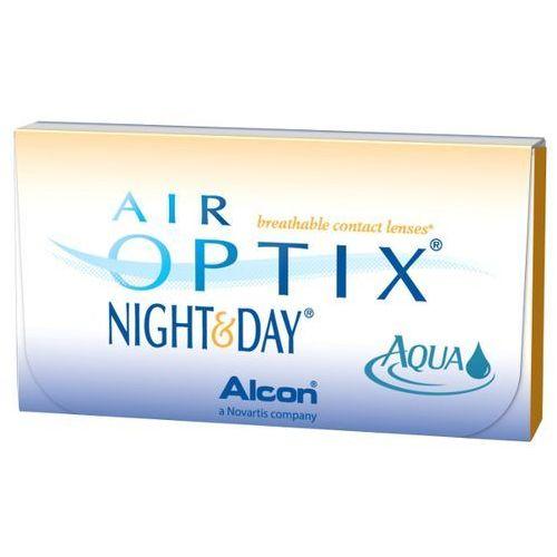 AIR OPTIX NIGHT & DAY AQUA 6szt + 2,0 Soczewki miesięczne | DARMOWA DOSTAWA OD 150 ZŁ!