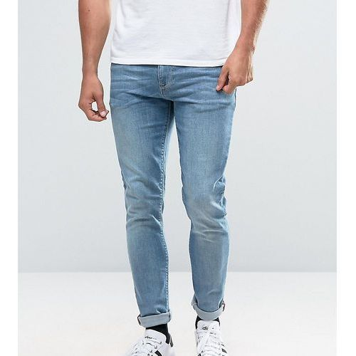 ASOS TALL Super Skinny Jeans In Light Wash - Blue, skinny