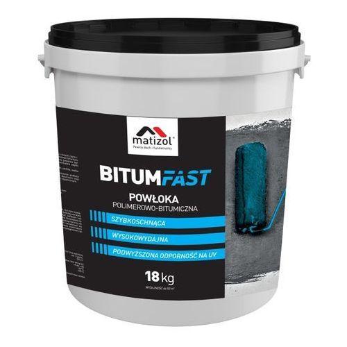 Szybka powłoka bitumiczna bitumfast 18 kg marki Matizol