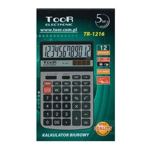 Kw trade Kalkulator biurowy toor tr-1216 12-pozycyjny (5903364217495)