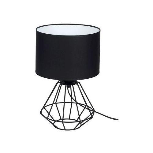 colin black mlp4792 lampka stołowa biurkowa 1x60w e27 czarny mat marki Milagro