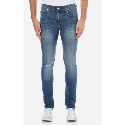 Cheap Monday Men's Tight Skinny Fit Jeans - Serene Blue - W32/L32 z kategorii Pozostałe