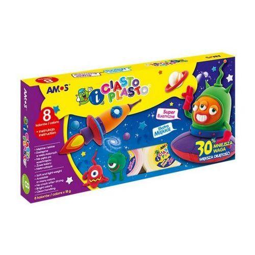 Amos Ciasto plasto 8 kolorów (8802946500567)