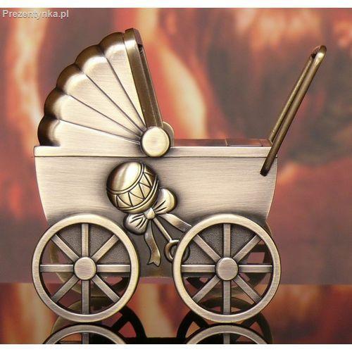 Skarbonka Wózek na chrzest roczek. Najniższe ceny, najlepsze promocje w sklepach, opinie.