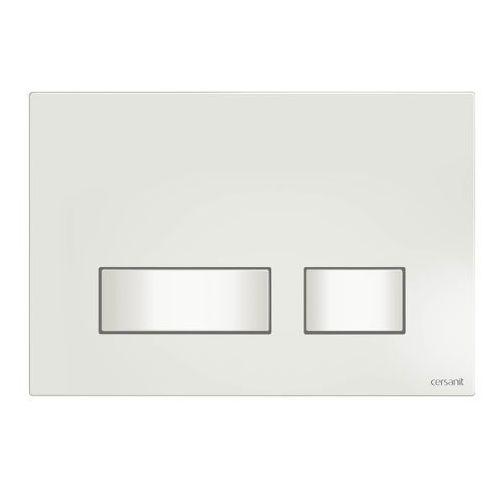 CERSANIT Movi przycisk spłukujący do WC, kolor BIAŁY S97-010 (5902115727955)
