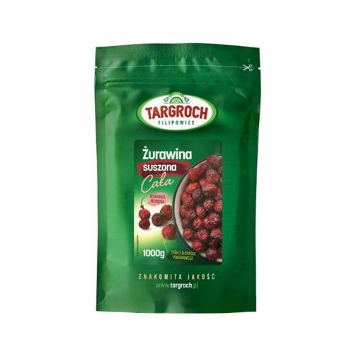 1kg żurawina suszona całojagodowa marki Targroch