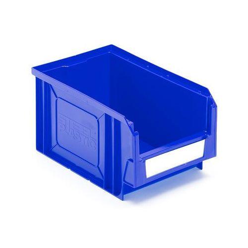 Aj Niebieskie pojemniki magazynowe 4,2 l - 145x125x235mm - 38szt w opakowaniu