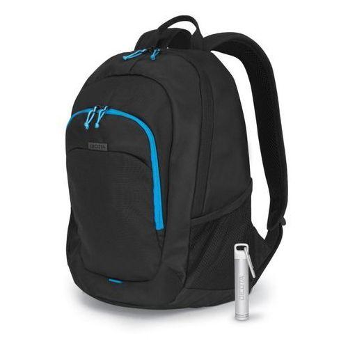 Dicota backpack power kit value 14-15,6 black plecak + power bank 2600mah (7640158663301)