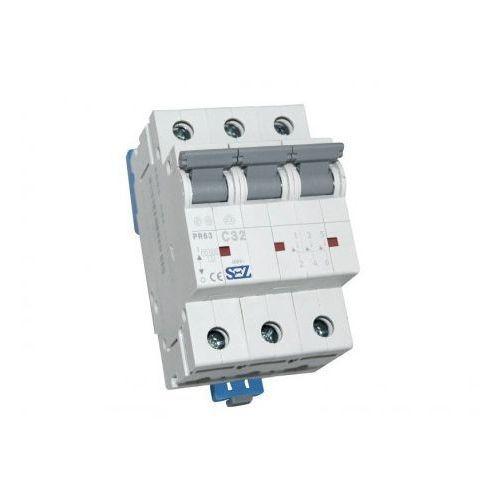 C32A 3P 10kA Wyłącznik nadprądowy bezpiecznik Typ S eska PR63 SEZ 1620 (8585009001620)