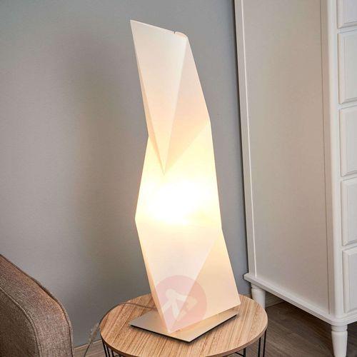 diamond lampa stojąca biały, fioletowy, 1-punktowy - nowoczesny/design - obszar wewnętrzny - diamond - czas dostawy: od 10-14 dni roboczych marki Slamp