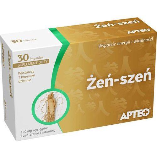 Apteo żeń-szeń x 30 kapsułek marki Synoptis pharma