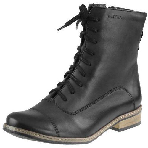 Botki Lesta 6344 - Czarne, kolor czarny