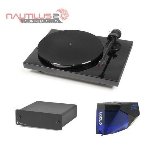 Pro-ject  1-xpression carbon dc + ortofon 2m-blue + phono box promocja - dostawa 0zł! - raty 20x0% w bgż bnp paribas lub rabat!