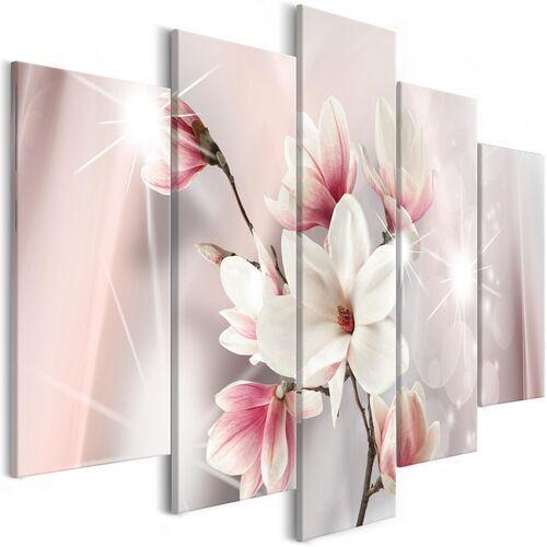 Obraz - Olśniewające magnolie (5-częściowy) szeroki